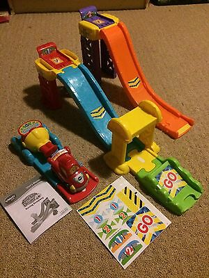 Vtech Toot Toot Ramps And Launcher With Racing Car