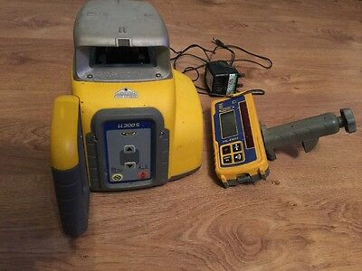 Spectra Precision  300s Rotary Laser Level Self Levelling ,hl450 Receiver