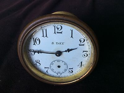 Antique Clock Moviment 8 Day Sessions