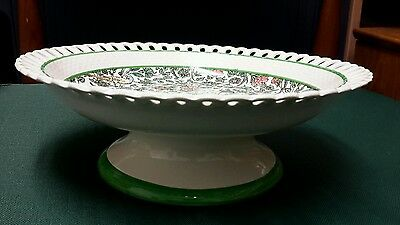 """Royal Doulton Series Ware """"Persian"""" Comport / footed bowl / plate stand"""