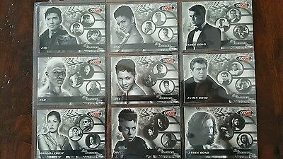 James Bond Die Another Day Expansion Set 1 To 18 Limited Edition Set