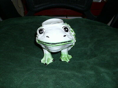 """Meiselman Frog -K-1447 Made In Italy 6""""lx4""""wx4 1/4""""h"""