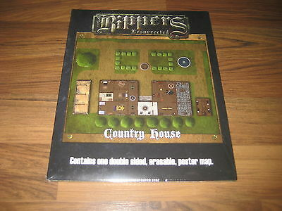 Savage Worlds Rippers Resurrected Map 1 Castle Dracula  Country House Neu New