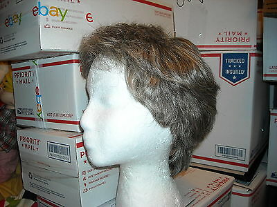 Halloween rose grey brown Eva GaborArtelle hair wig Josef of Rome larger size L