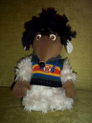 "Rare Soft Toy Retro Womble STEPNEY Wimbledon Common 10"" Vintage Plush Wombles"