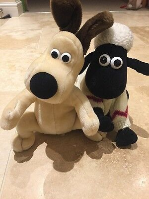 wallace and gromit soft toy bundle - Shaun The Sheep And Gromit