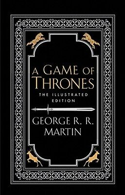 A Game Of Thrones - Illustrated Edition - George R.R. Martin - Hardcover