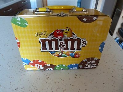 Mallette de poker m&m's