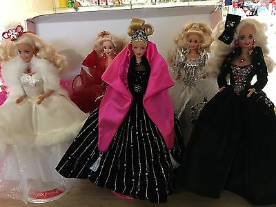 Holiday Barbie Lot