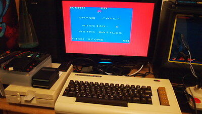 Commodore Vic 20 Computer +16K Ram - Tested 100%  (PAL) Trusted Seller.
