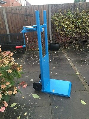Heavy Duty Sack Barrow With Wind Up Base Two Available