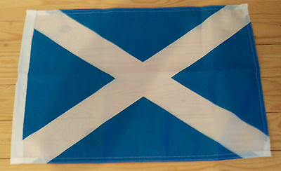 "SCOTLAND FLAG - 45cm x 30cm - 18"" x 12""  - Scottish flag"
