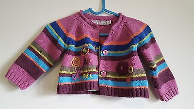 Girls cardigan from BOBOLI age 1 month NEW WITH TAGS