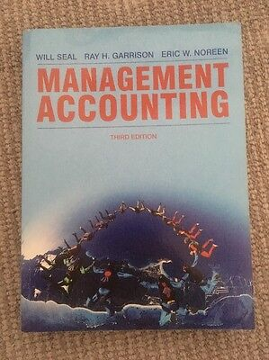 Management Accounting- Seal, Garrison And Noreen