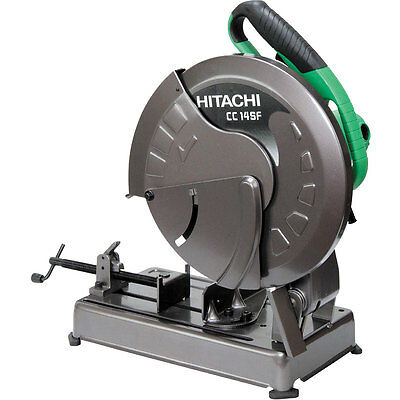 """14"""" 15 Amp Portable Chop Saw with Trigger Switch, 4000-RPM Hitachi CC14SFS New"""