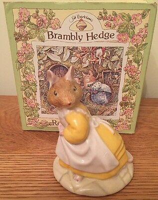 Royal Doulton Brambly Hedge Figurine 'catkin' Bdh12 With Box