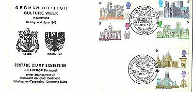 Cathedrals 1969 German British Culture Week BF1078 Official Unddressed.