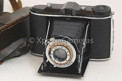 AGFA ISOLETTE ISORETTE FOLDING 120 FILM CAMERA WITH SOLINAR f4.5 LENS