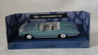 FORD THUNDERBIRD CONVERTIBLE / wPURPLE FLAMES 1966 - XTREME MACHINES - SEALED