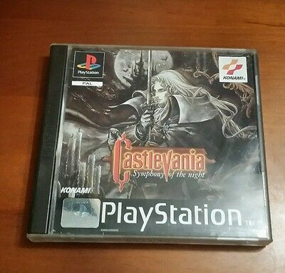 Castlevania: Symphony of the Night - PlayStation (PS1)