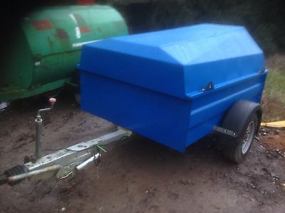 1100 Litre Fast Tow Bowser Diesel Tank With New 12v Pump
