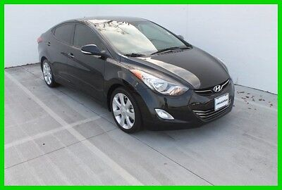 2013 Hyundai Elantra Limited call Juan Carlos 832-506-1890 2013 HYUNDAI ELANTRA LIMITED SEDAN 29K MILES*1OWNER*LOCAL TRADE IN*NAVIGATION!!
