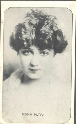 Kromo Gravure - Leading Moving Picture Stars, Set A - Edna Mayo