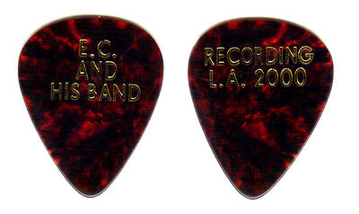 Guitar Pick - Eric Clapton - 2000 Recording La Real Custom Guitar Pick!