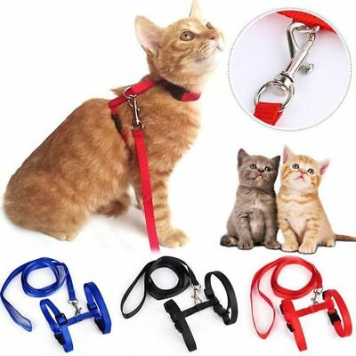 Traction Adjustable Cat Belt Cat Pet Rope Kitten Collar Rope Nylon Harness