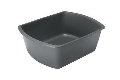 Medline DYND80342 Rectangular Plastic Washbasins, 8 quart (Pack of 50)