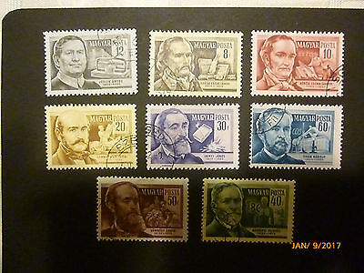 Hungary Stamps - 1954 Scientists