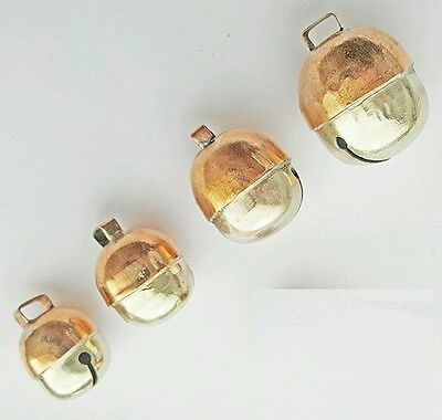 Falconry Bells Two Tensile Acorn Bell Pair New(All Sizes Available) Great Sound.