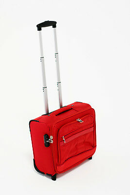 Business Laptop Travel Bag + Carry-on Travel Wheeled Briefcase Luggage
