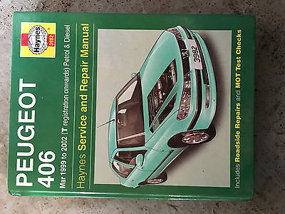 Peugeot 406 Haynes Workshop Manual