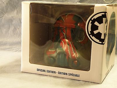 "Disney Store Star Wars LEGION 6"" Boba Fett Mint In Box Special Edition Vinyl"