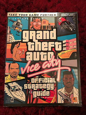 Grand Theft Auto Vice City Official Strategy Guide - BradyGames - Paperback