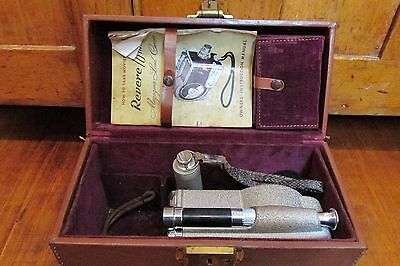Vintage Revere 16mm Magazine Load Camera, Collectibles, Antique, Pictures, Movie