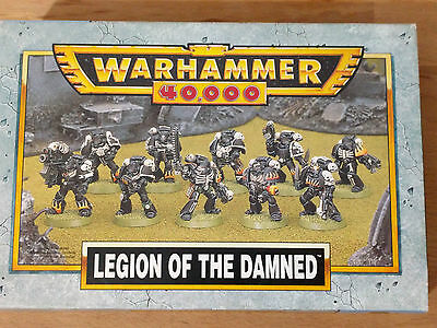 Warhammer 40k -  Space Marine Legion of the Damned - OOP - Mint