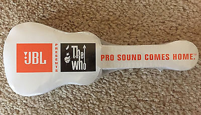 The Who Shrink-Packaged, Guitar-Shaped T-Shirt