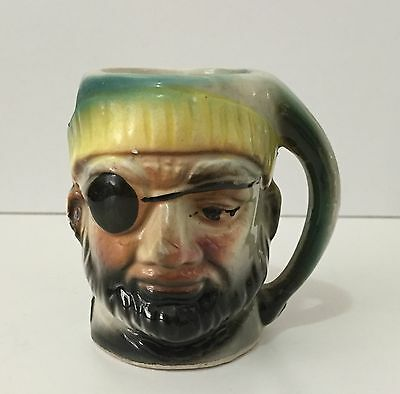 Small Vintage Pirate Character/toby Jug