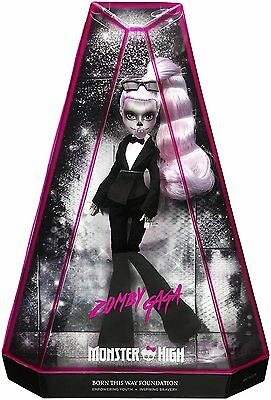 Zomby Gaga Monster High Born This Way Lady Gaga Doll - In Stock