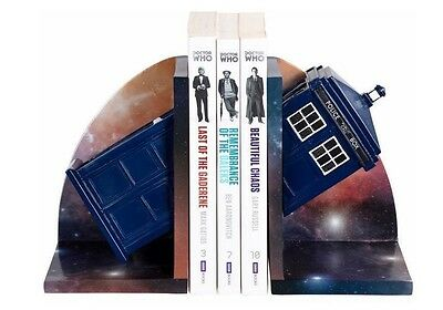 NEW BBC Doctor Who Tardis Bookends