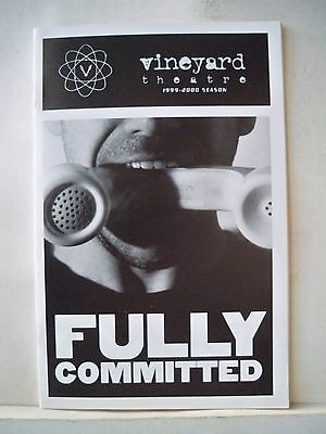 FULLY COMMITTED Playbill MARK SETLOCK NYC 1999