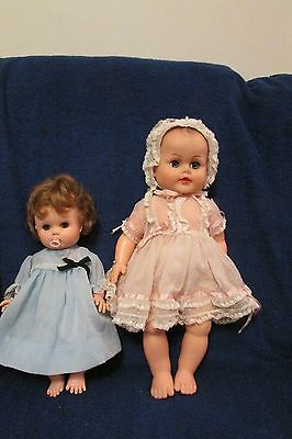 Two Vintage 1960's Dolls