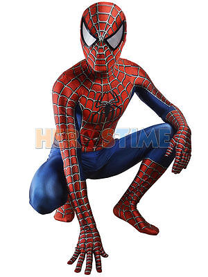 Spiderman Costume Ultimate Miles Morales Superhero Spider-Man Cosplay Goggles
