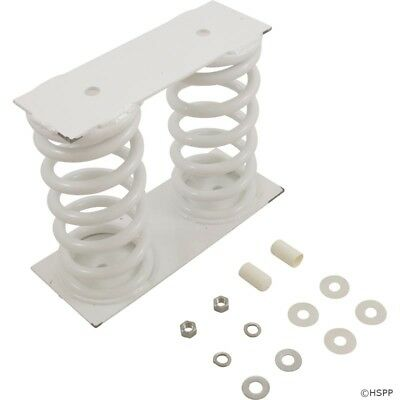 Baja White Dual Coil Spring Only With Base To Jig Hardware