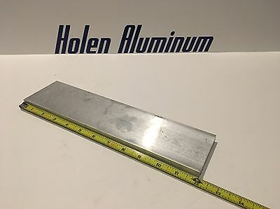 "1/2"" X 3"" X 12"" Long Aluminum Flat Bar Solid 6061-T6511"