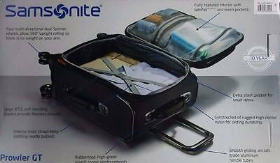GENUINE Samsonite Prowler GT Luggage Free Postage Superfast Delivery!!