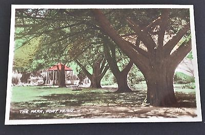 Vintage Port Fairy Photograph of the Park Colored