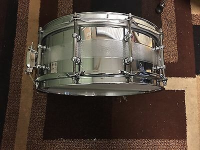 LIMITED EDITION Jeff Ocheltree Heavy Metals 22 Carbon Steel 5.5 X 14 Snare Drum